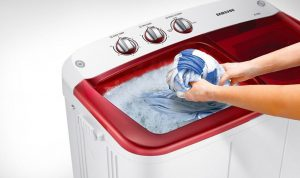 Semi automatic washing machine 01