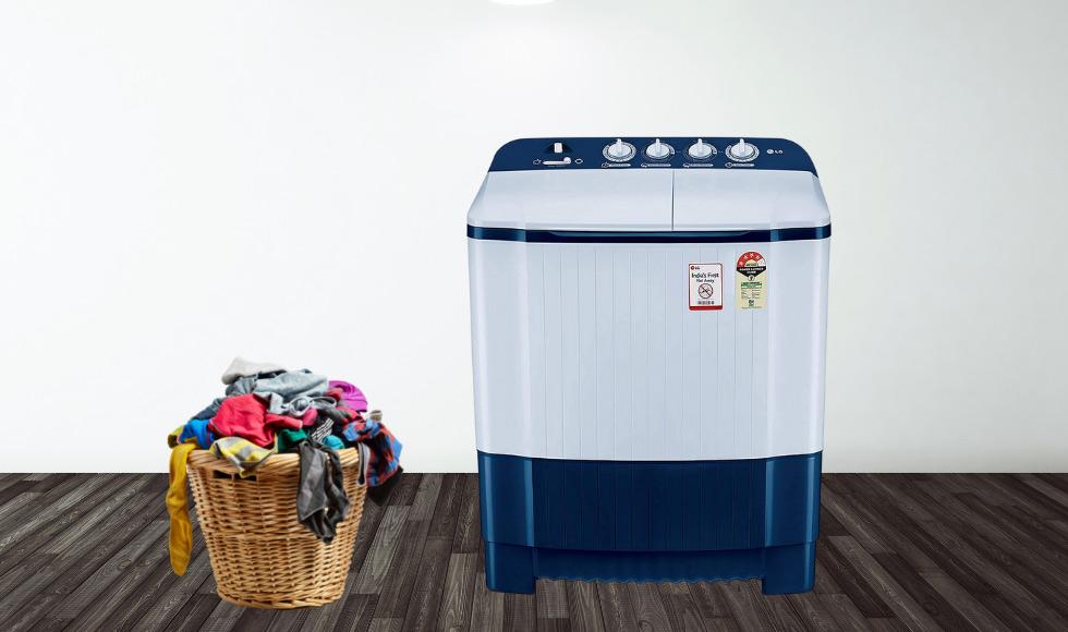 LG 6.5 Kg 4 Star Semi-Automatic Top Loading Washing Machine