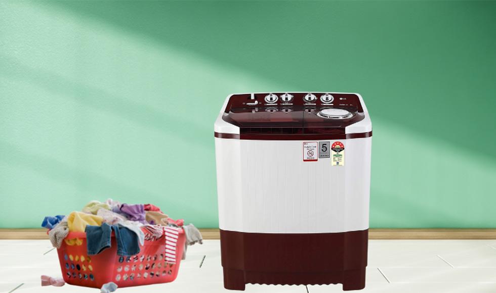 LG 8 Kg Semi-Automatic Top Loading Washing Machine