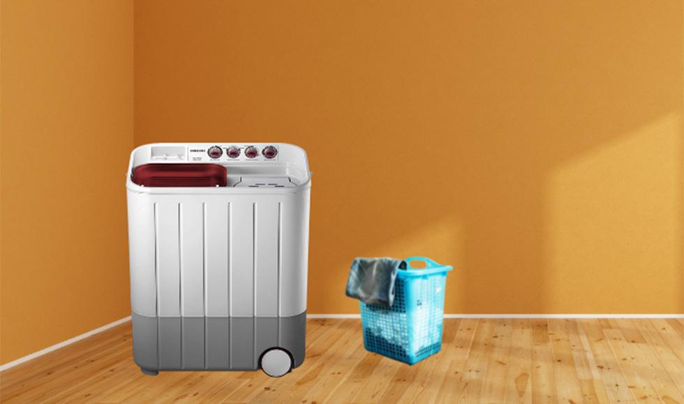 Samsung 6.5 kg Semi-Automatic 5 Star Top Loading Washing Machine