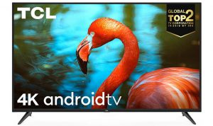 TCL (55-inch) AI 4K UHD Certified Android Smart LED TV