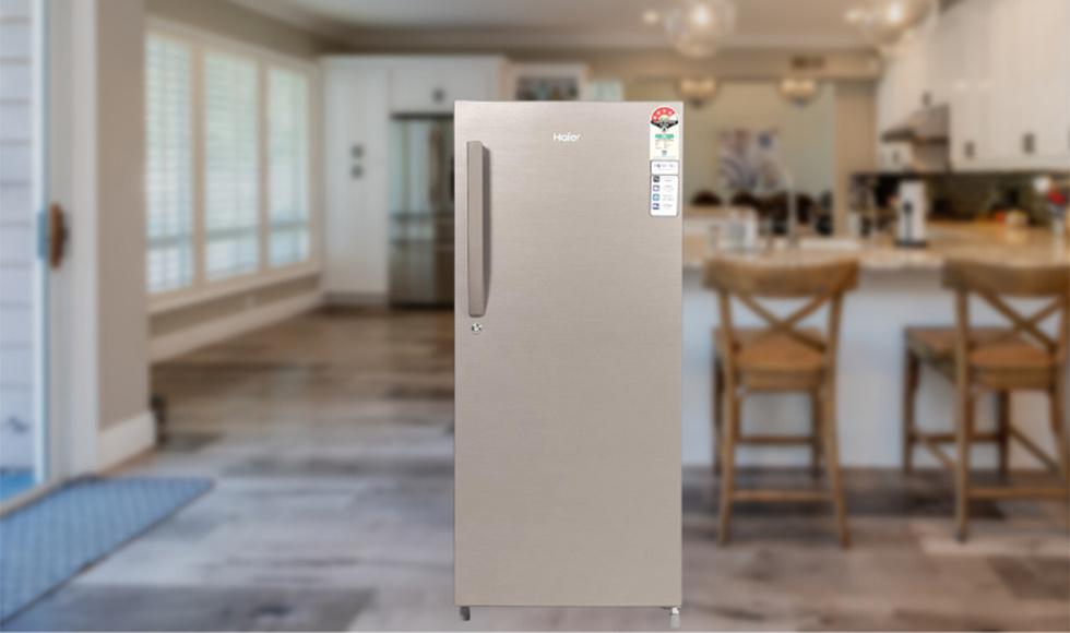 Haier 195 L 4-Star Direct Cool Single Door Refrigerator