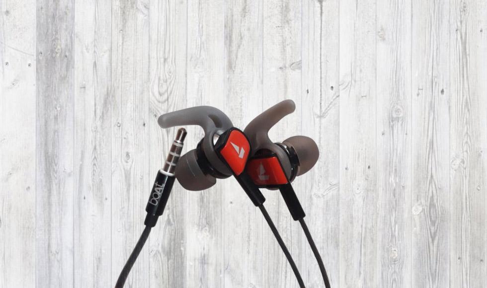 boAt Bassheads 242 Wired Sports Earphones