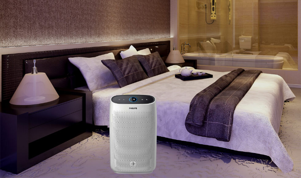 Philips AC1215/20 Air purifier with 4-stage filtration