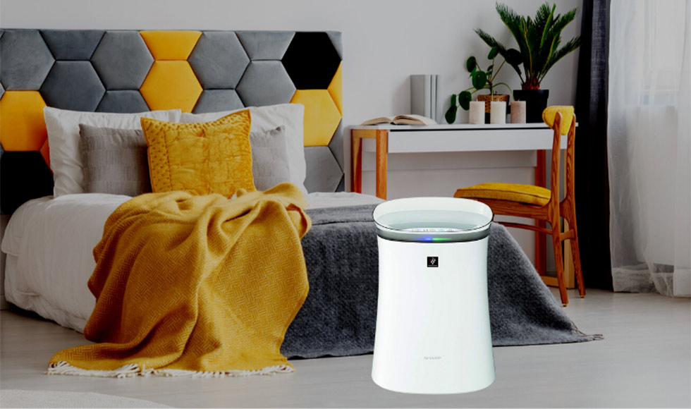Sharp Air Purifier for Homes & Offices FP-F40E-W
