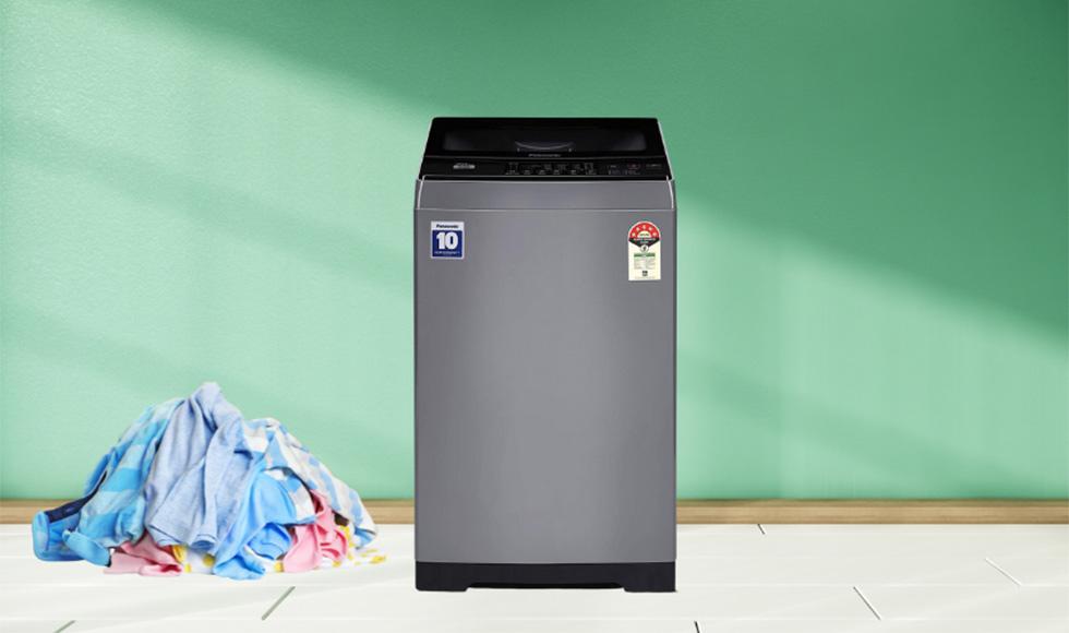 Panasonic 7 Kg 5 Star Fully-Automatic Top Loading Washing Machine