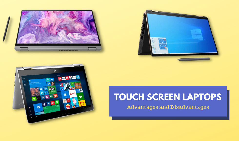 Touch Screen Laptops
