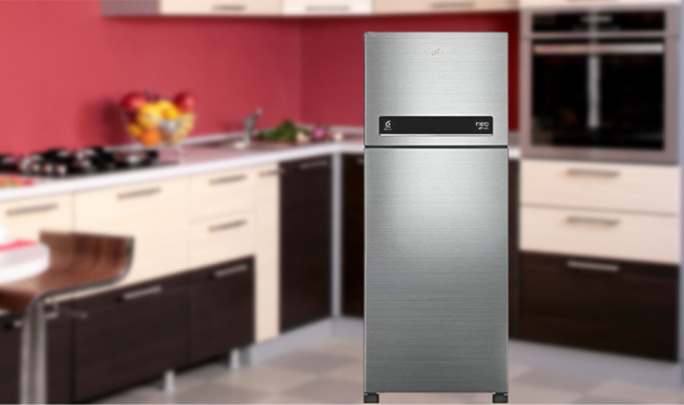 Whirlpool 245 L 2 Star ( 2019 ) Frost-Free Double-Door Refrigerator