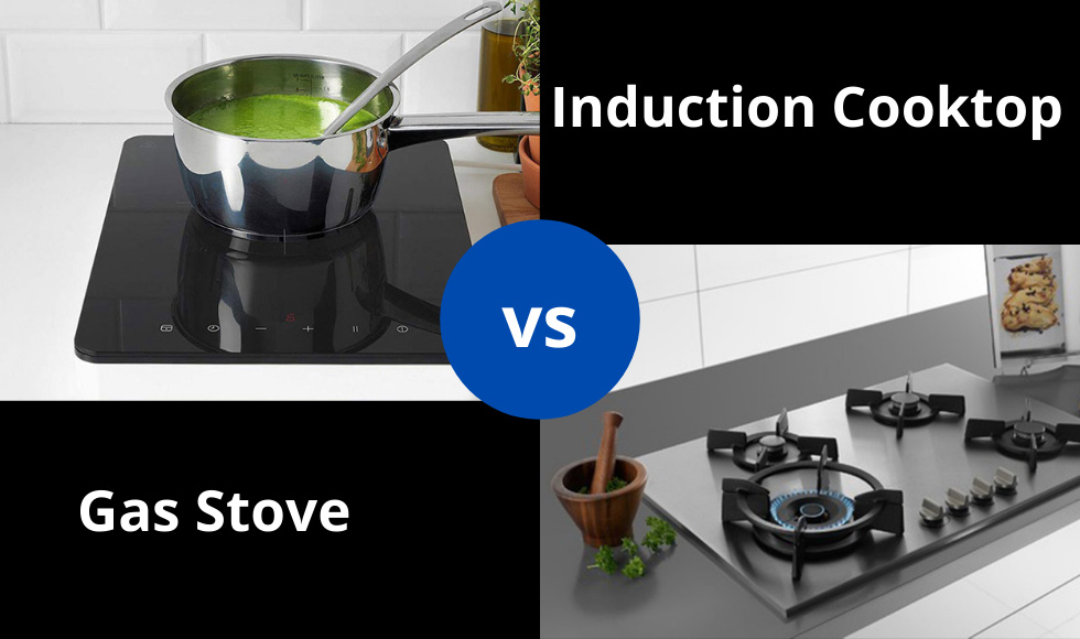 Induction Cooktop vs Gas Stove