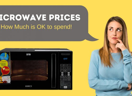 Microwave prices in India