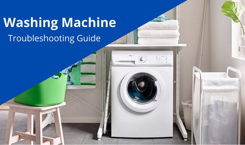 most common washing machine problems