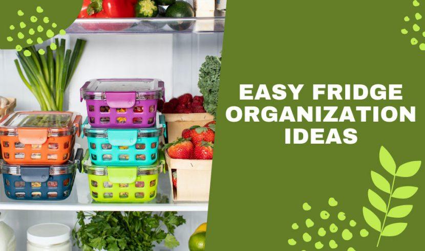 How to Organize a Refrigerator