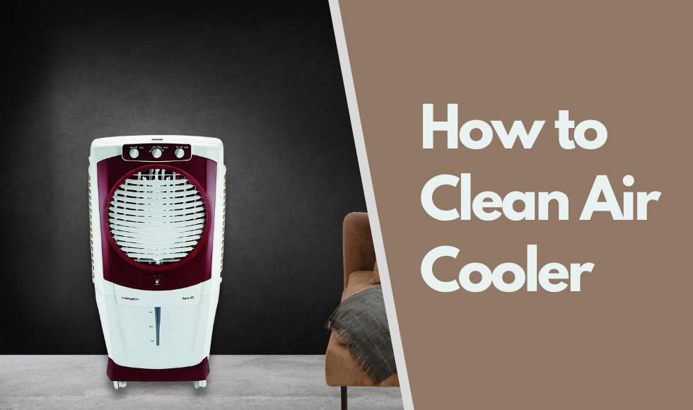 How to clean Air Cooler