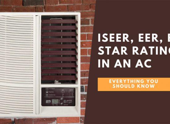 ISEER, EER, BEE Star Ratings in an AC