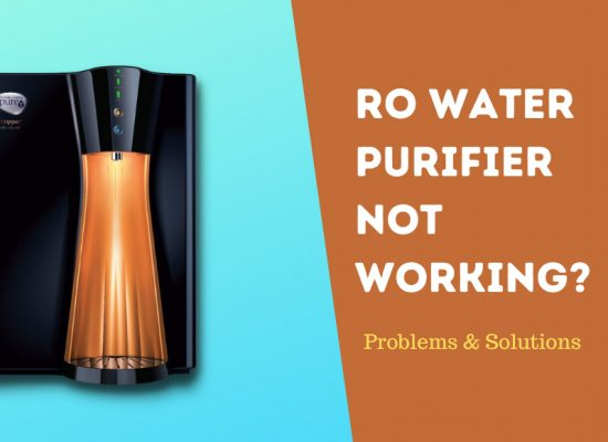 RO Water Purifier not working