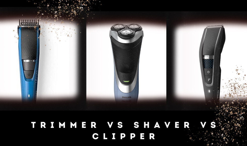 Trimmer vs Shaver vs Clipper