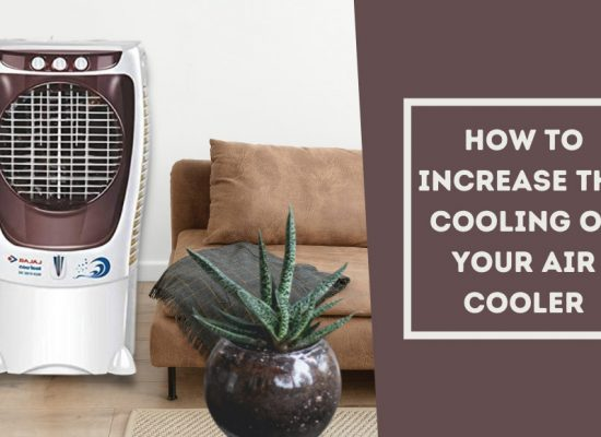 how to increase cooling of air cooler