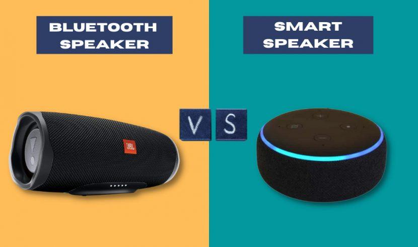 Bluetooth Speaker vs Smart Speaker