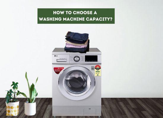 How to choose a Washing Machine Capacity