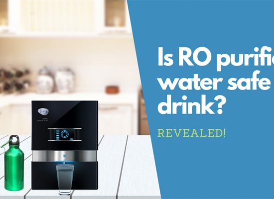 Is RO purified water safe to drink